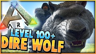 getlinkyoutube.com-ARK: Survival Evolved | TAMING LEVEL 116 DIRE WOLF | S2 Ep 15 | (Tame A Level 100+ Dire Wolf)