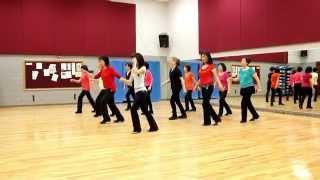 getlinkyoutube.com-Rock & Roll King - Line Dance (Dance & Teach in English & 中文)