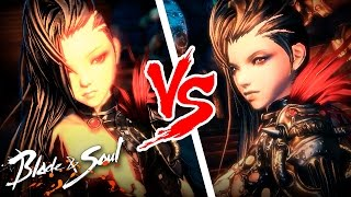 getlinkyoutube.com-Blade & Soul - Yuran VS Yuran - lvl 19 Assassin Gameplay - Mod Test