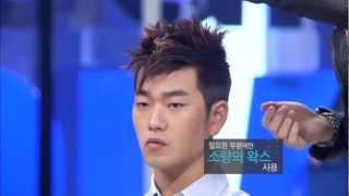 getlinkyoutube.com-Get it Beauty Homme Ep.3: 떡지지 않고 왁스 바르는 법! 올바른 왁스 사용법 공개!