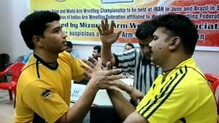 Laxman Singh Bhandari, Delhi with PK Abdul Salam Kerala in Final Round