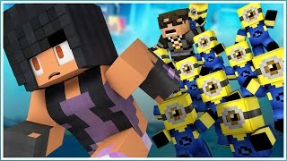 getlinkyoutube.com-Minecraft Hide and Seek - MINIONS ATTACK!