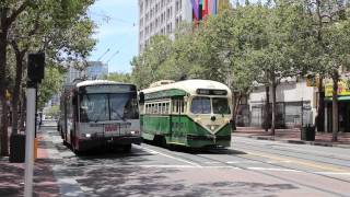 getlinkyoutube.com-San Francisco MUNI (SFMTA) Trolleybuses and Streetcars