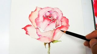 getlinkyoutube.com-[LVL4] Rose Painting Tutorial