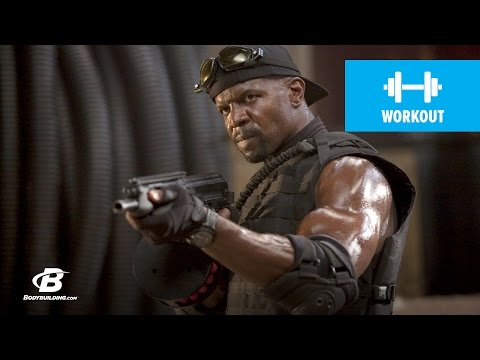 Terry Crews Expendables Training - Bodybuilding