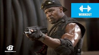 getlinkyoutube.com-Terry Crews Expendables Training - Bodybuilding.com