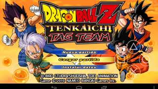 getlinkyoutube.com-Dragón Ball Z Tenkaichi Tag Team Android + configuracion