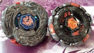getlinkyoutube.com-BATTLE: L-Drago Destructor/Destroy F:S VS Fang Leone 130W2D Black Vers. - Beyblade Metal Fight 4D