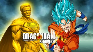 getlinkyoutube.com-Superman Prime VS Super Saiyan Blue Goku | Dragon Ball Xenoverse MODS (Duels)