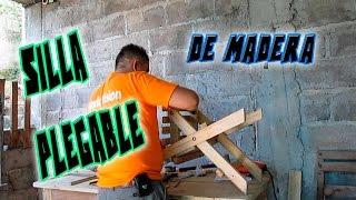 getlinkyoutube.com-Cómo hacer una silla plegable sin ser carpintero