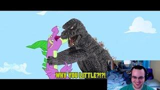 getlinkyoutube.com-A Brony Reacts - Godzilla Meets My Little Pony