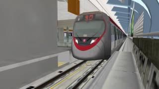 getlinkyoutube.com-OpenBve MTR 西鐵綫中車長客列車