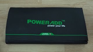 getlinkyoutube.com-Poweradd 40W Solar Panel Unboxing and First Look