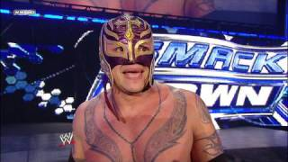 getlinkyoutube.com-World Heavyweight Champion Undertaker vs. Rey Mysterio