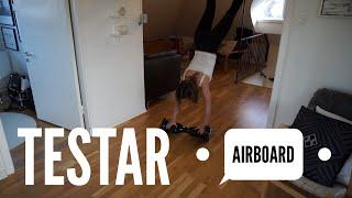getlinkyoutube.com-TESTAR AIRBOARD MED EMIL   VLOGG 17