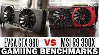 getlinkyoutube.com-MSI R9 390X vs EVGA GTX 980 - Full Graphics Card Comparison