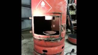 Waste Oil Heater - Roger Sanders Version - Irish Style