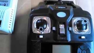 getlinkyoutube.com-antenna mod for xtreem quadforce video drone 2.4ghz controller - part 1