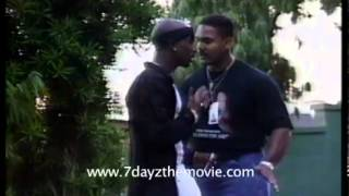 Rare 2pac clip outside The House of Blues 1996