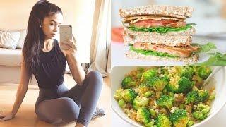 getlinkyoutube.com-WHAT I EAT IN A DAY 🍎 Healthy & Vegan!