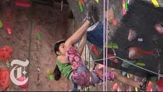 getlinkyoutube.com-Ashima's Ascent: Rocking the Climbing World | The New York Times