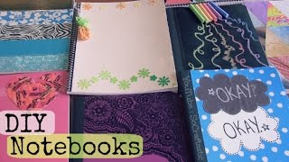 getlinkyoutube.com-DIY Notebooks - TFIOS, Chalkboard, Magazine, Crayon Wrappers, Duct Tape & More! ♥ Back To School