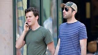 getlinkyoutube.com-The Real Reason Behind Zachary Quinto And Jonathan Groff's Split!!