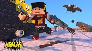 getlinkyoutube.com-Minecraft Mod: ESCADONA - ARMAS 3D REALISTAS (Stefinus 3D Guns) ‹ AM3NIC ›