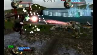 getlinkyoutube.com-Godzilla Unleashed (Titano vs Varan)