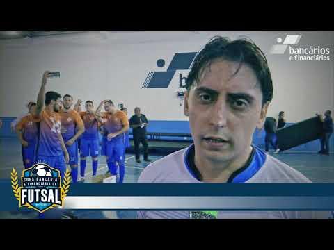 Final da Copa Bancária de Futsal Masculino 2017