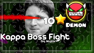 getlinkyoutube.com-Geometry Dash - [DEMON] Kappa Boss Fight by Jeyzor
