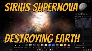 getlinkyoutube.com-Will Sirius B Supernova Destroy Earth?- Universe Sandbox²