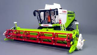 getlinkyoutube.com-CLAAS LEXION 760 in LEGO version by Eric Trax