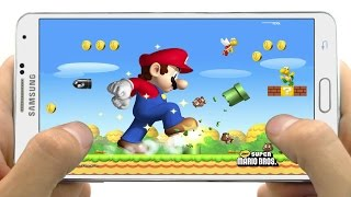 getlinkyoutube.com-Excelente Juego New Super Mario Bros para Android