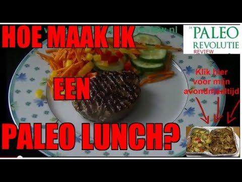 Paleo Lunch | Paleo Hamburger Recept