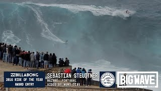 getlinkyoutube.com-Sebastian Steudtner at Nazare - 2016 Billabong Ride of the Year Entry - WSL Big Wave Awards