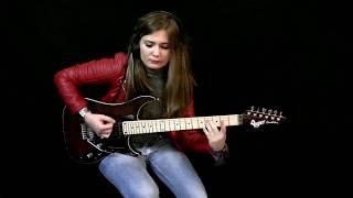 getlinkyoutube.com-Megadeth - Tornado Of Souls - Cover by Tina S