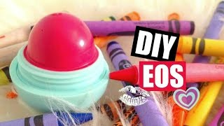 getlinkyoutube.com-DIY EOS Lip Balm | Perfect Dome Shaped | EASY