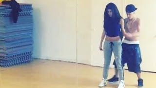 getlinkyoutube.com-Justin Bieber & Selena Gomez Steamy Dance Video