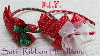 getlinkyoutube.com-❆ ☃ ❆ D.I.Y. Holiday Season Headband   MyInDulzens ❆ ☃ ❆