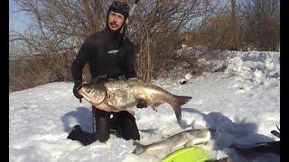 getlinkyoutube.com-Зимняя охота на водохранилищах ч.2 / Подводная охота Александр Кочубей
