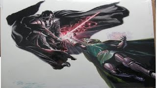 Let's Watch Death Battle Darth Vader vs Doctor Doom MTRG