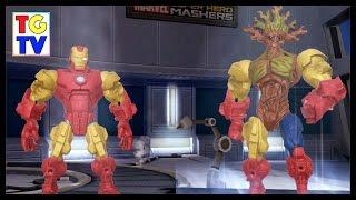 getlinkyoutube.com-Marvel Super Hero Mashers Groot   Mix + Smash