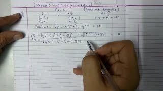 Chapter 7 Exercise 7.1 (Q8 Q9 Q10) Coordinate Geometry Class 10 Maths ||NCERT CBSE