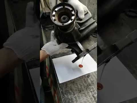 Volvo XC90 редуктор, течь масла АКПП замена сальника.