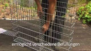 getlinkyoutube.com-Giardino VARESE  Installation Steinmauer - GER