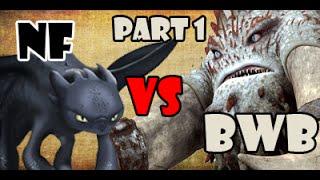 getlinkyoutube.com-Night Fury vs Bewilderbeast (1/2)