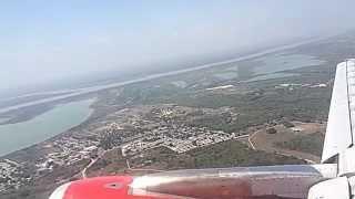 getlinkyoutube.com-Aterrizaje abortado en Barranquilla Colombia