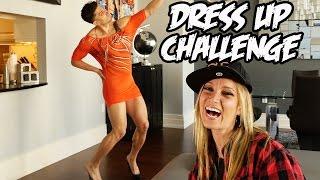 getlinkyoutube.com-DRESS UP CHALLENGE!!!