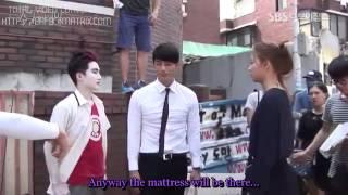 getlinkyoutube.com-كواليس المسلسل الكوري سيد الشمس